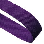 Purple Woven Medal Ribbons With Clip 1
