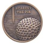 70mm Nearest The Pin Golf Medals  1