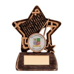 Resin School Trophies For Maths