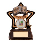 Resin School Trophies For English