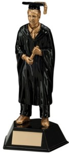 Resin Male Graduate