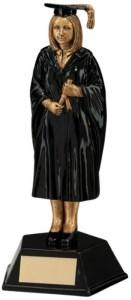 Resin Female Graduate