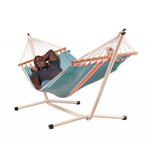 Stand And Double Hammock Neptuno Hamac Double Support Pour Hamac Le Hamac Et Support Pour Hamac Ensemble Complet Ensemble Complet