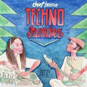 techno rumba ep cover by chief boima