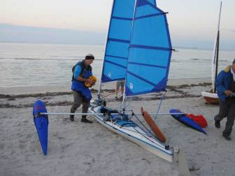 Batwing Ketch Kayak