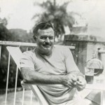Ernest Hemingway at his Finca la Vigua Cuba
