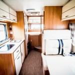 FIAT DUCATO Camper Van inside
