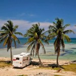 FIAT DUCATO Camper Van on the beach by tropicalcubanholiday.com