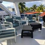 Yacht Avalon III terrace - Jardines de la Reina diving tour in Jardines de la Reina Cuba