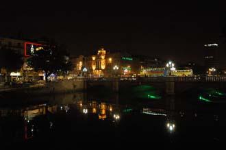Puente de O\'Conell por la noche