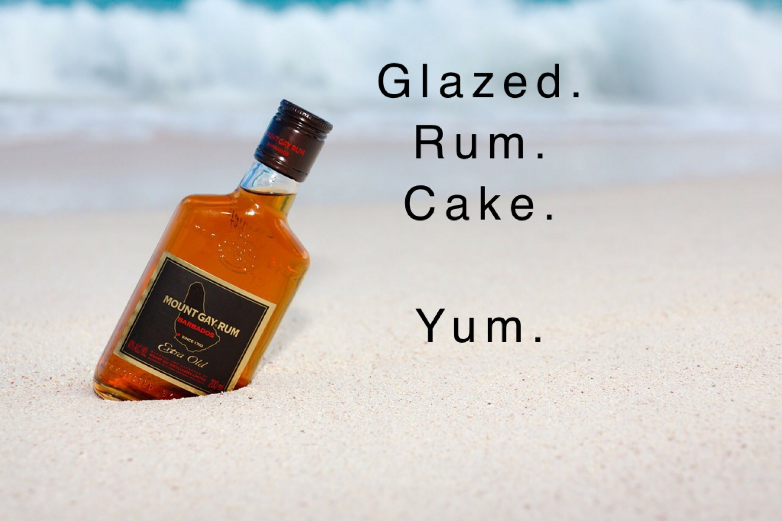 WOW!!! Glazed Rum Cake.