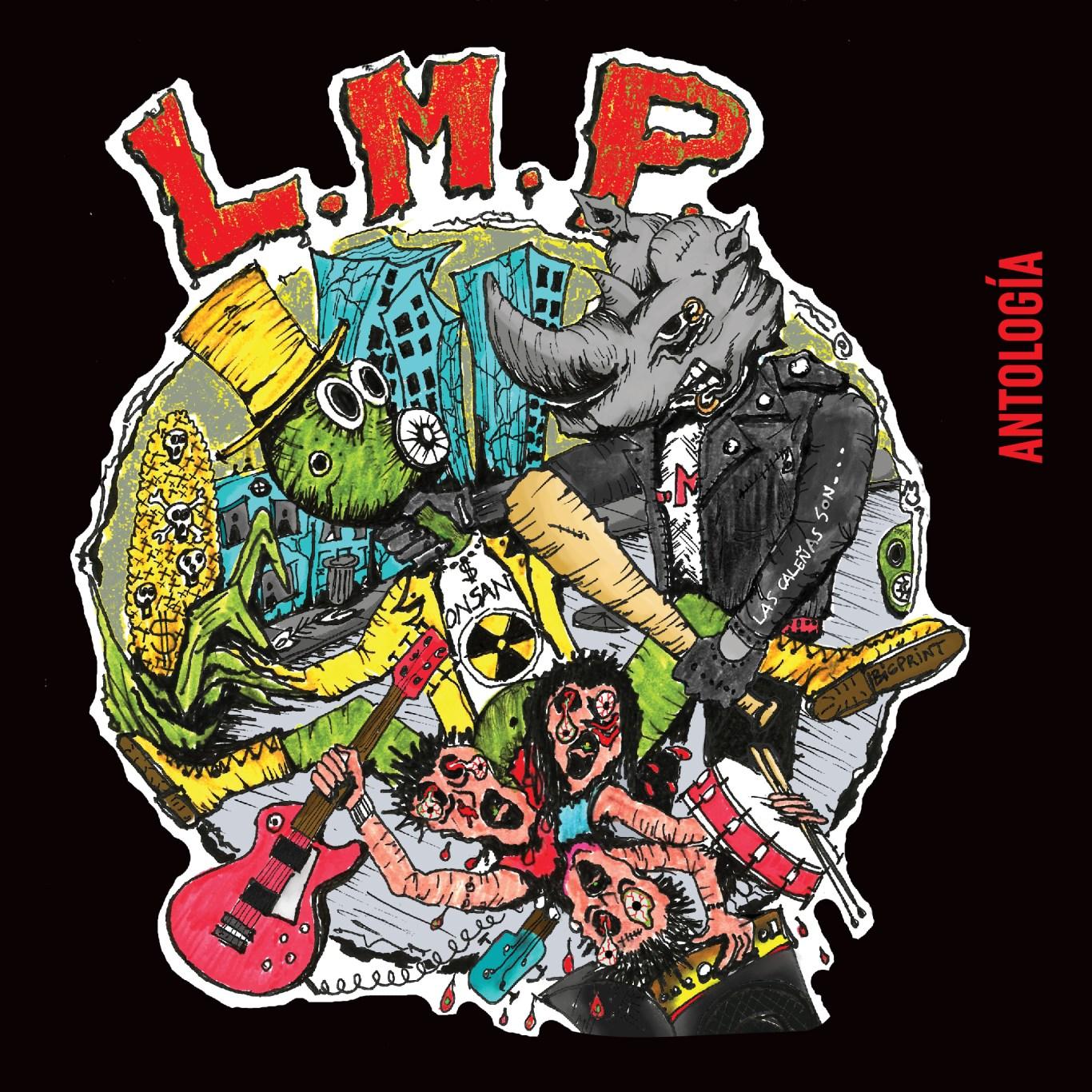 Portada de LMP Antología