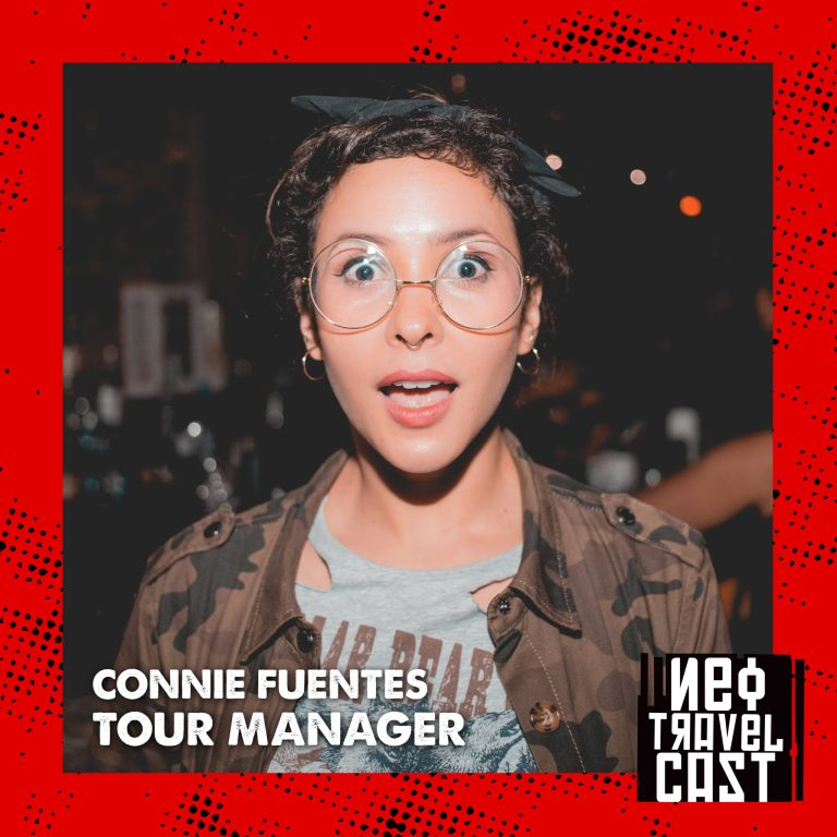 La vida de una Tour Manager con Connie Fuentes