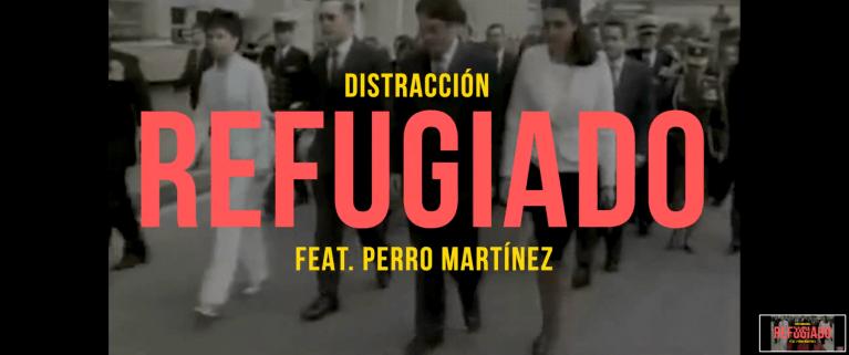 Distracción se une con el Perro Martínez para reprochar con 'Refugiado'