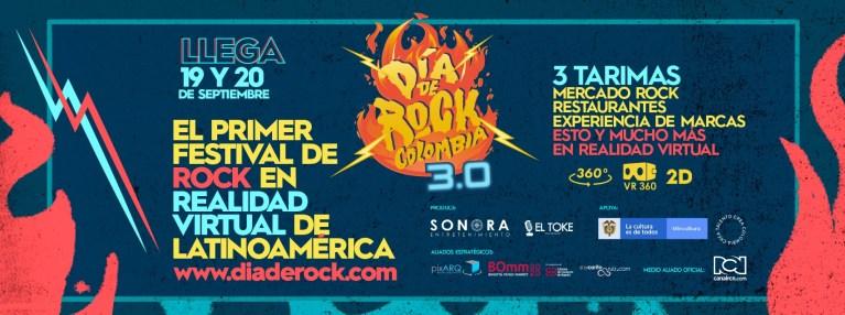 El Día de Rock Colombia 3.0 promete una experiencia única con un concierto interactivo
