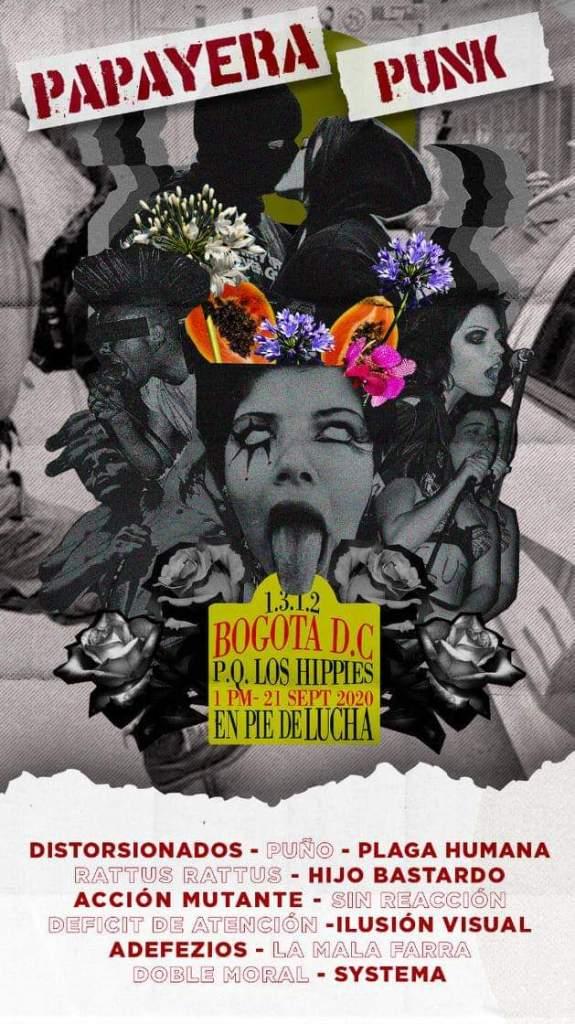 Papayera Punk - Septiembre 21, 2020