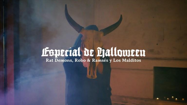 El Poste con Rat Demons, Robo y Ramsés y Los Malditos | ESPECIAL DE HALLOWEEN
