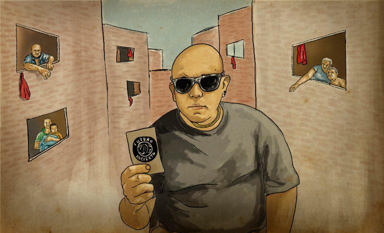 La Escena Punk de Medellín Despide a 'Faber'