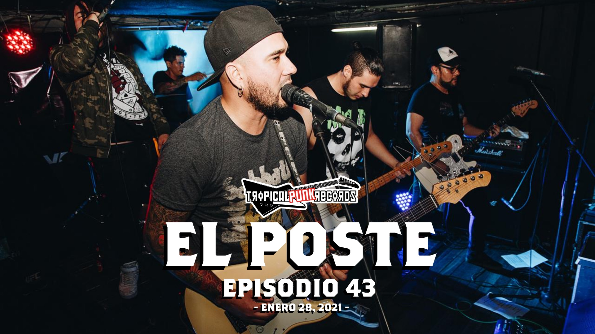 El Poste episodio 43 con Torre, Los De Greiff, Dexkoncierto, Psycopath Billy y Sin Compromiso | Neo Travel Cast, un podcast de Tropical Punk Records