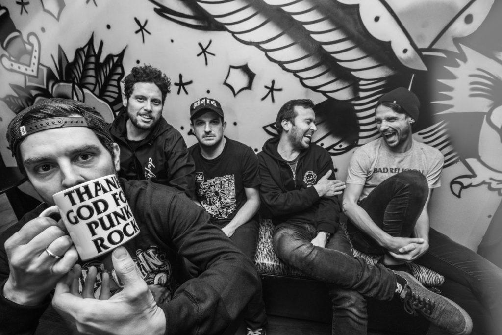 LAPM, banda punk rock de Bogotá, Colombia