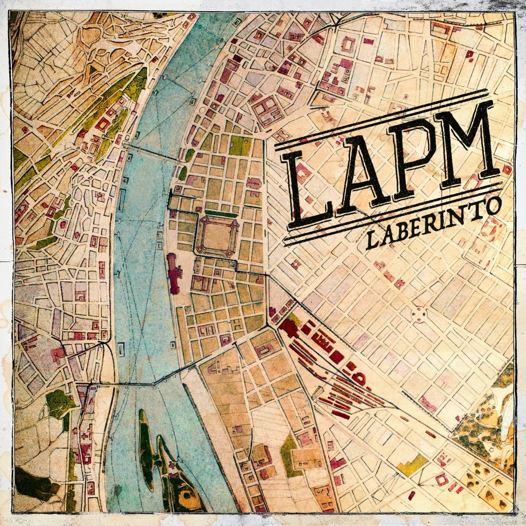 Laberinto, segundo disco de LAPM, banda Bogotana de punk rock en Tropical Punk Records