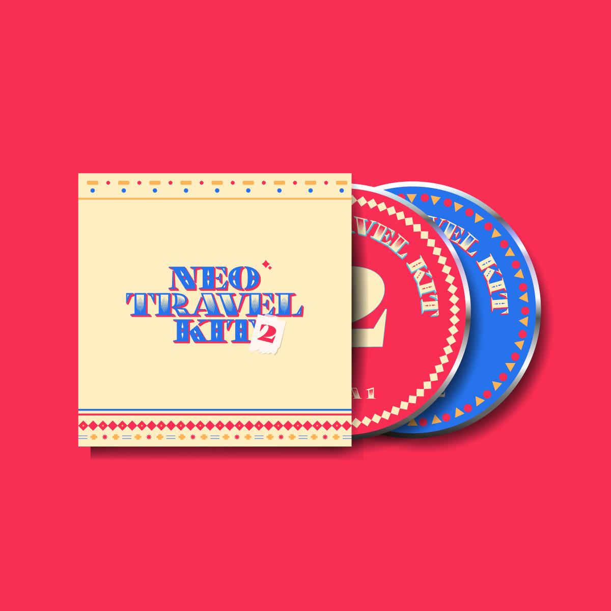 Neo Travel Kit 2, Caratula y CDs