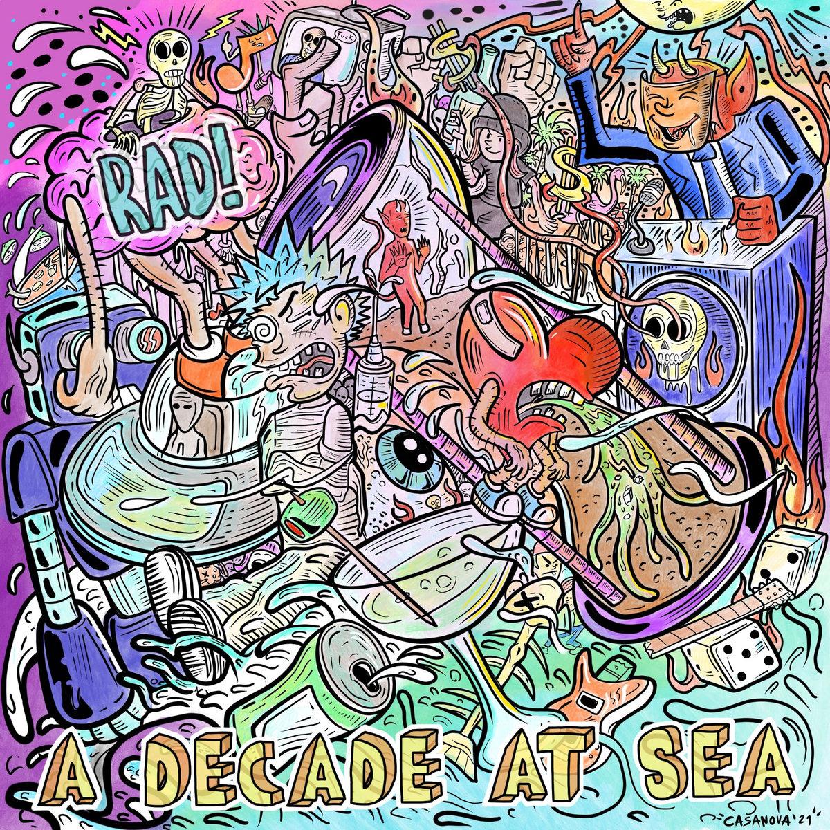 A Decade At Sea, banda punk de Hialeah, FL en Sábado Internacional de Tropical Punk Records