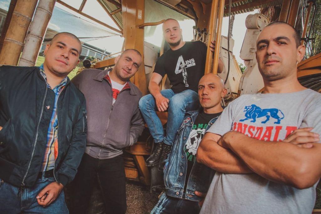 Hombres de Barrio, street punk oi desde Medellin en El Poste del Neo Travel Cast de Tropical Punk Records