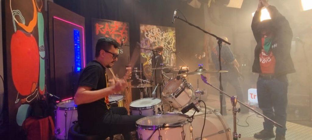 La banda R.A.Z.A - Punk desde Bogotá