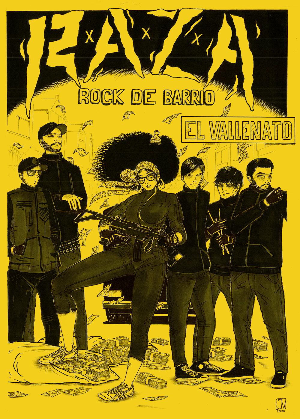 R.A.Z.A - El Vallenato - Punk de Bogotá