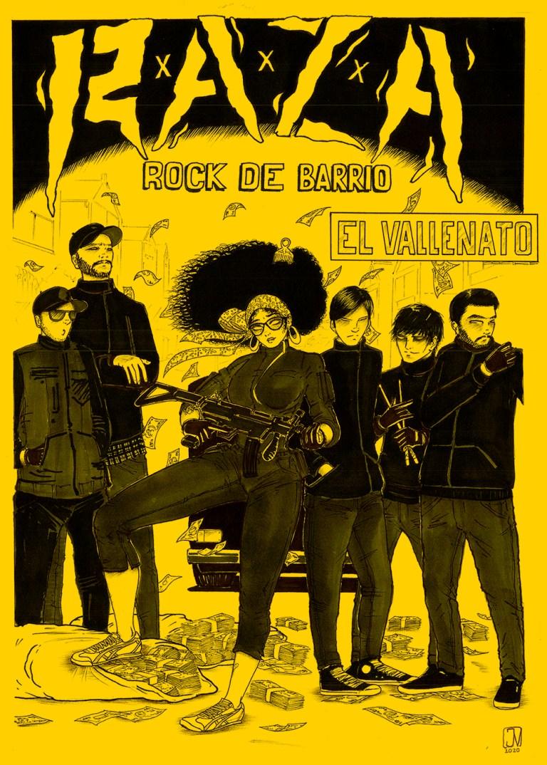 El Vallenato… un relato guajiro desde Bogotá por  R.A.Z.A