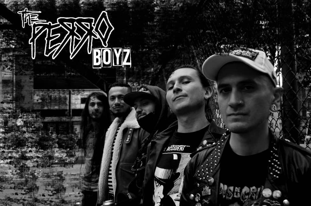 La banda de punk colombiana The Perro Boyz