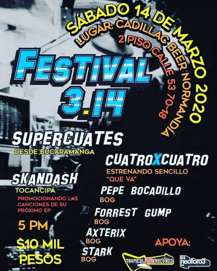 Supercuates junto a Cuatro x Cuatro, Pepe Bocadillo, Forrest Gump y más