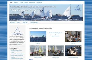 The Charlotte Harbor Community Sailing Center uses the Lifestyle theme.