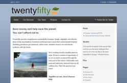 TwentyFifty uses the StudioPress Freelance theme.