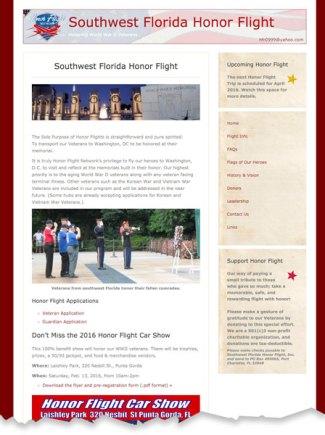 Southwest Florida Honor Flight
