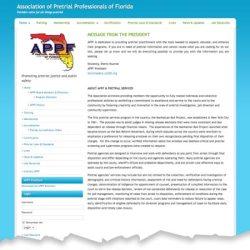Association of Pretrial Professionals of Florida