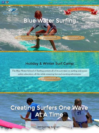 Blue Water Surf School in Jupiter, Florida