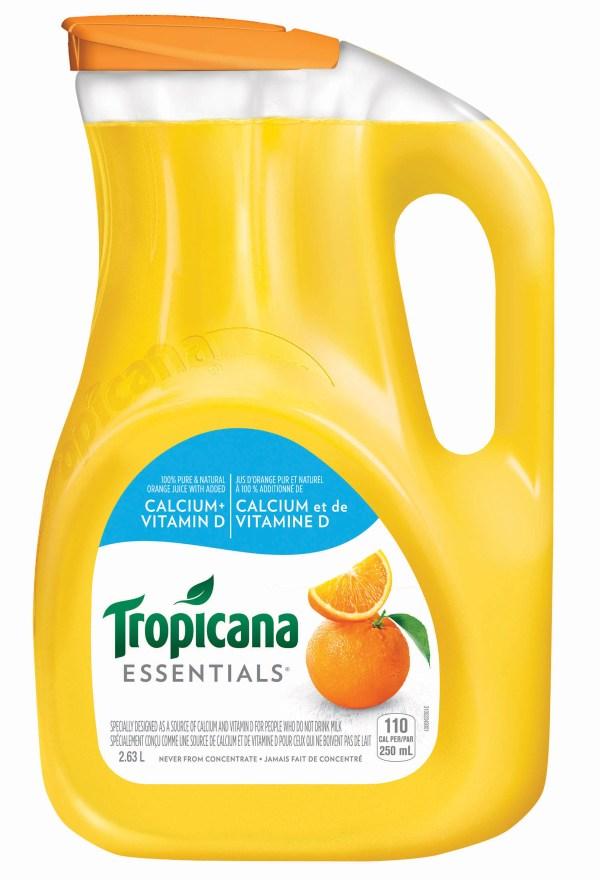 Tropicana Essentials® Calcium & Vitamin D | Tropicana.ca