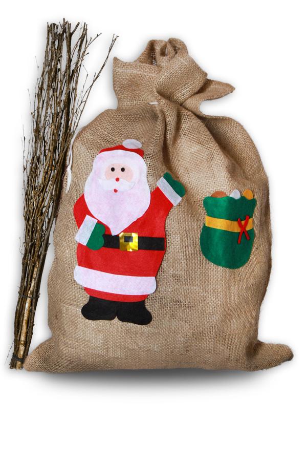 XXL Jutesack Nikolaussack Weihnachten Nikolaus Weihnachten ...