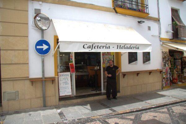 CAFETERÍA DONDE DESAYUNAMOS EN CÓRDOBA