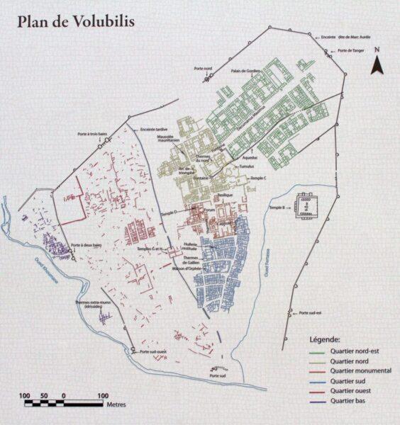 PLANO DE VOLUBILIS