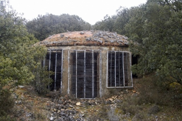CÚPULA EN EL POLVORÍN DE HONTORIA DE LA CANTERA