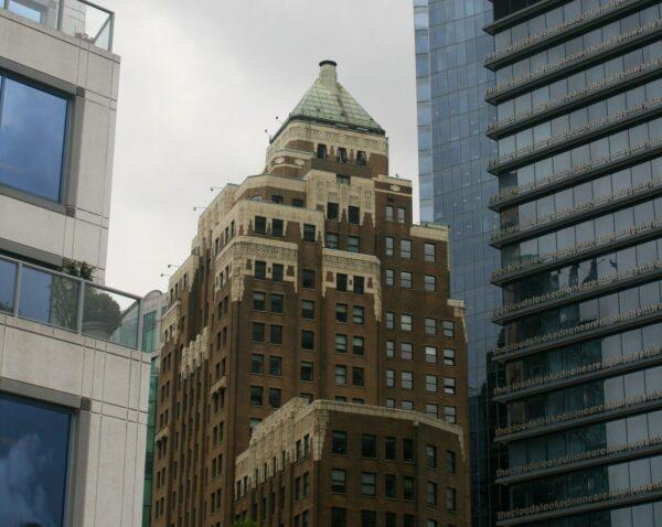 MARINE BUILDING. VANCOUVER, CANADÁ.