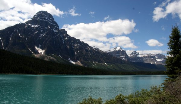 BOW LAKE. P. NAC. DE BANFF. CANADÁ.