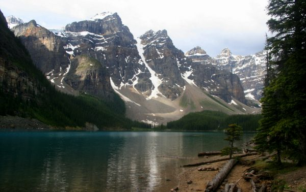 LAKE MORAINE. P.N. LAKE LOUISE. CANADÁ