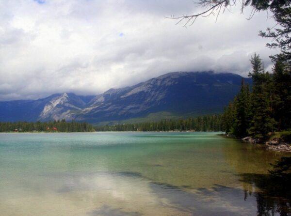 EDITH LAKE. P.N. DE LAS ROCOSAS. JASPER, CANADÁ.