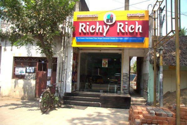RESTAURANTE RICHY RICH DONDE COMIMOS EN CHIDAMBARAM