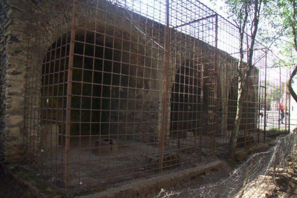 JAULAS DE LOS LEONES EN LA CIUDADELA DE FASILIDES, GONDAR