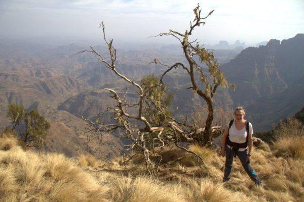 BEATRIZ EN EL PARQUE NACIONAL SIMIEN MOUNTAINS